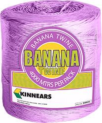Kinnears Banana Twine Violet Spool