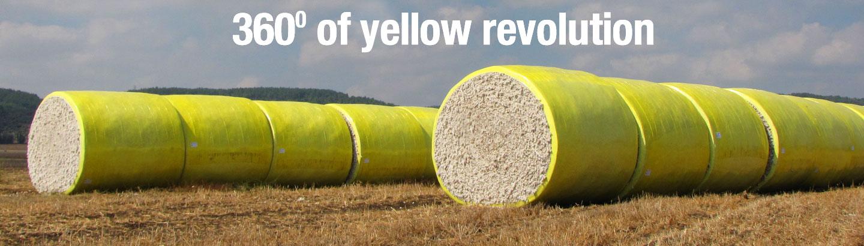 Cotton Wrap Yellow Header