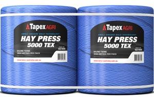 Hay Press Small Square 5000tex 3680m pack
